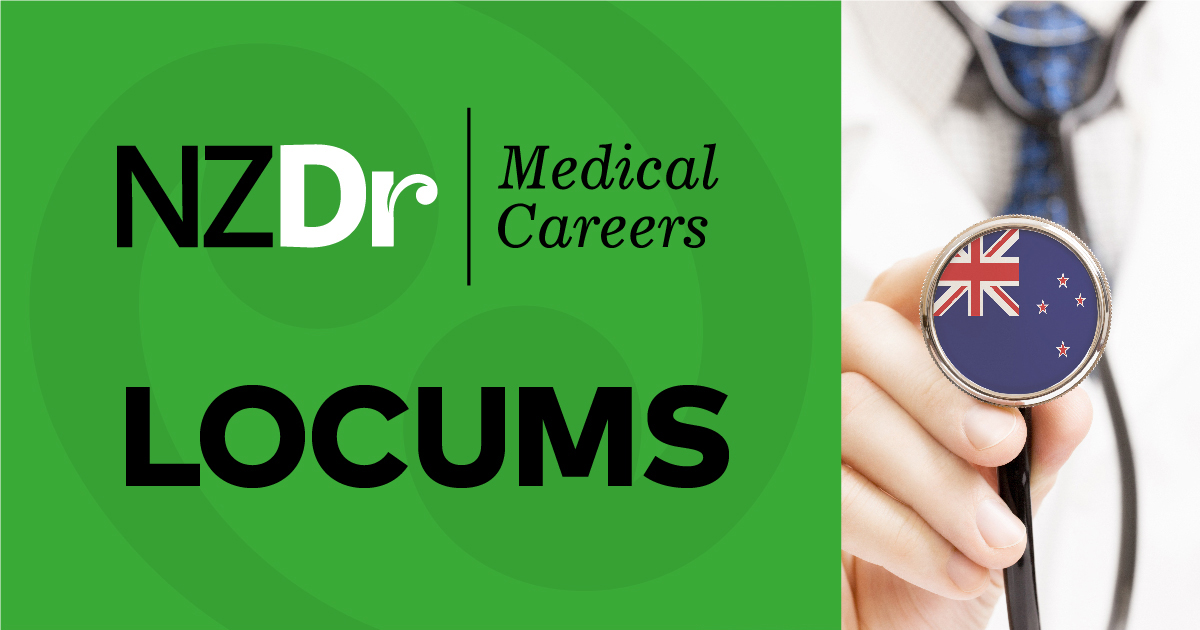 Why use NZDR when working a locum?